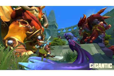 Action MOBA Gigantic To Be Published by Perfect World ...