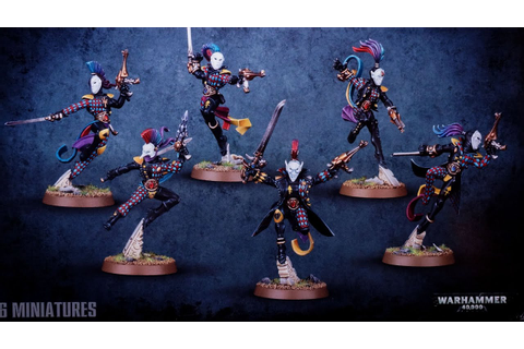 Review: GW Harlequin Troupe Box & Solitaire - YouTube