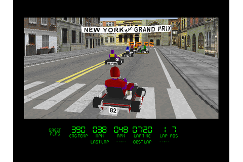 Download Virtual Karts | DOS Games Archive