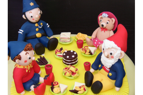 Noddy And Friends Picnic Party Birthday Cake « Susie's Cakes