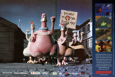 Video Game Ad of the Day: Chicken Run