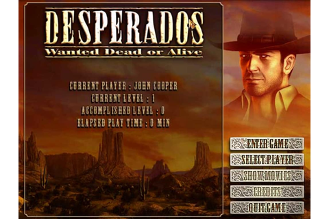 Desperados: Wanted Dead Or Alive - Download