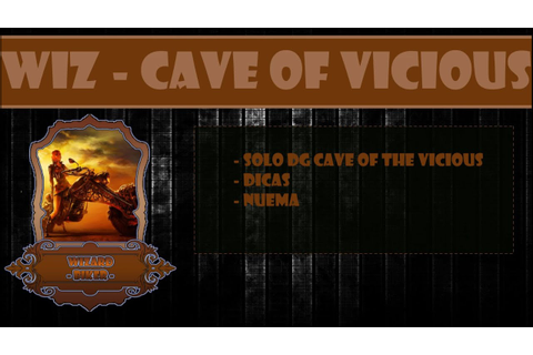 Wizard - Cave of the Vicious - Solo + Nuema - YouTube
