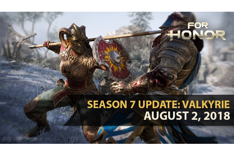 Saison 7 Kämpfer Update: Walküre | For Honor: Neues aus ...