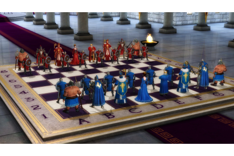 Battle Chess: Game of Kings (2015) promotional art - MobyGames
