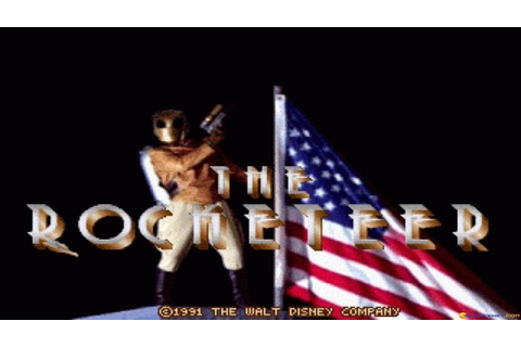 The Rocketeer gameplay (PC Game, 1991) - YouTube