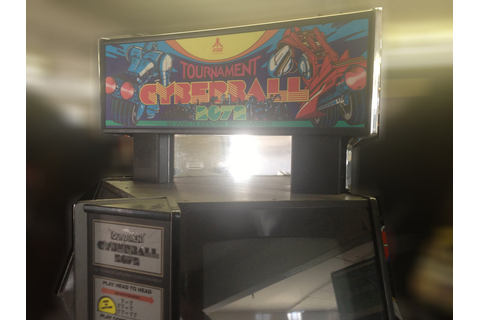 Tournament Cyberball 2072 - Vintage Arcade Superstore