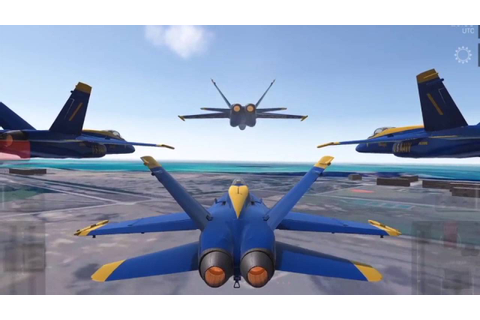 Blue Angels: Aerobatic Sim Flight Simulator Game Play ...