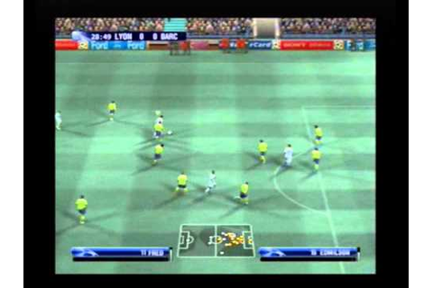 UEFA Champions League 2006 - 07 ( PS2 ) Gameplay - YouTube