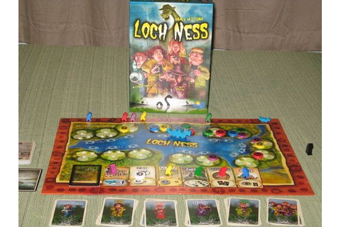 Loch Ness | Game museum, Board games, Ness