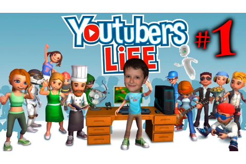 My Life: The Game! Youtubers Life Ep 1: Becoming a ...