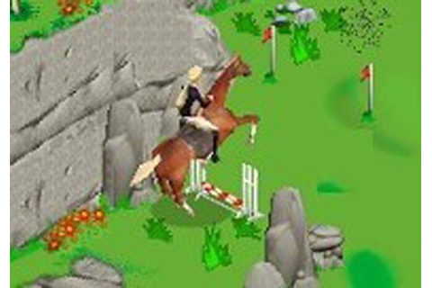 Barbie Horse Adventures: Blue Ribbon Race Electronics Video Game ...