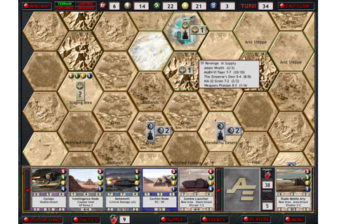 Delirium Tigers - Games: Armageddon Empires - Battle system