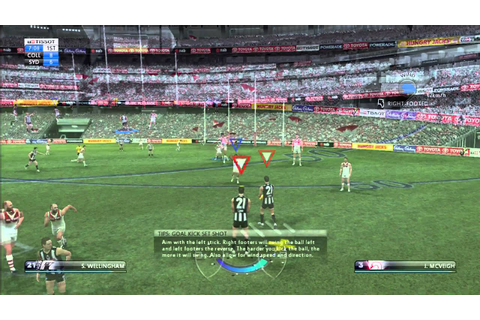 AFL LIVE 2011 VIDEO GAMEPLAY - YouTube