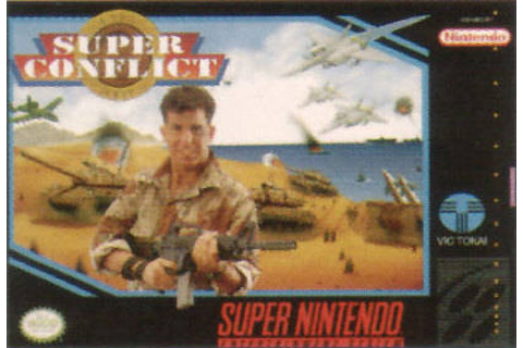 Retro Game Guide - SNES - Super Conflict: The Mideast