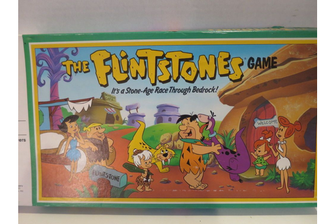 1999 MB The Flintstone Game #4103 Uncut Sealed Pieces # ...