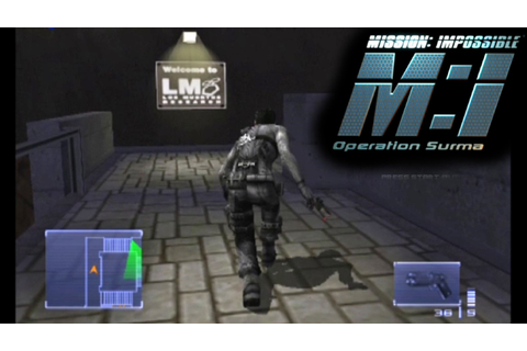 Mission Impossible: Operation Surma ... (PS2) - YouTube