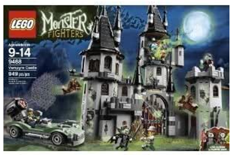 Amazon.com: Toy / Game Nightmare Lego Monster Fighters ...