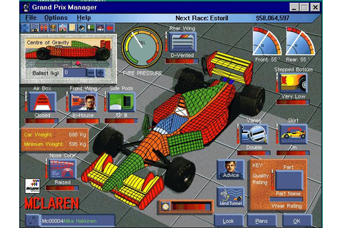 Grand Prix Manager Download (1995 Sports Game)