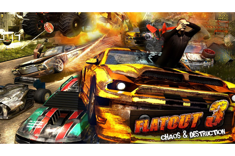 FlatOut 3: Chaos & Destruction Gameplay [ PC HD ] - YouTube