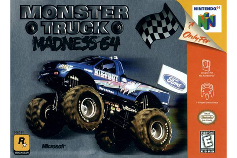 Monster Truck Madness 64 Nintendo 64 Game