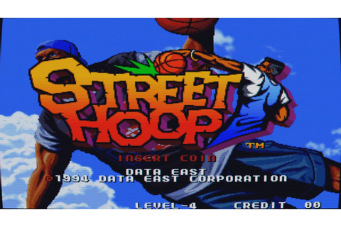 Street Hoop Intro (Arcade Game) - YouTube