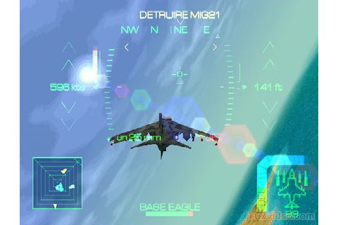 Gameplay Eagle One : Harrier Attack : Aux armes ...