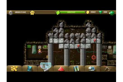 Grendel's cave - Diggy's Adventure - YouTube