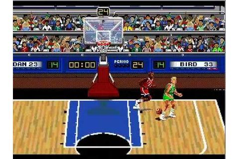 Super One On One: Jordan Vs. Bird (Lost the Game) Gens32 ...
