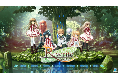 Visual Novel Reviews: Rewrite | Hobby Hovel
