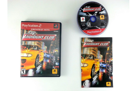 Midnight Club Street Racing game for Playstation 2 ...