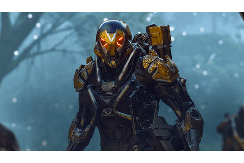 Bioware's new game Anthem showcases gameplay, spidery boss ...