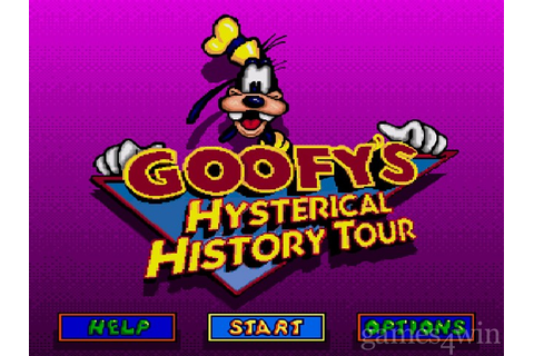 Goofy's Hysterical History Tour Download on Games4Win