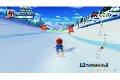 Gameplay Mario & Sonic aux Jeux Olympiques d'Hiver : Une ...