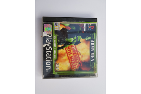 Buy Ps1 Army Men Omega Soldier games Used Preowned ...
