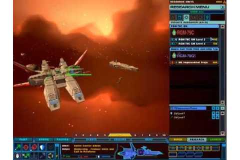 Gundam Mod 3.1 for Homeworld 2 Game Play - YouTube