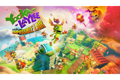 Yooka-Laylee and the Impossible Lair Is Now Free on Epic ...