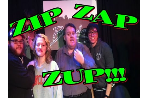 How to play / teach classic Improv game Zip Zap Zup - YouTube