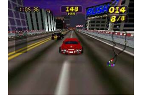 Rush 2 Extreme Racing Usa - Nintendo N64 Game