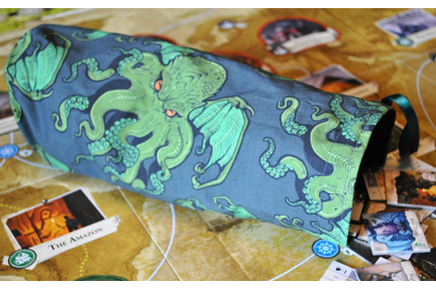 Cthulhu Arkham Horror Monster Bag or XXXL Dice bag with