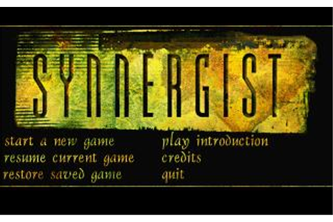 Synnergist Download (1996 Adventure Game)