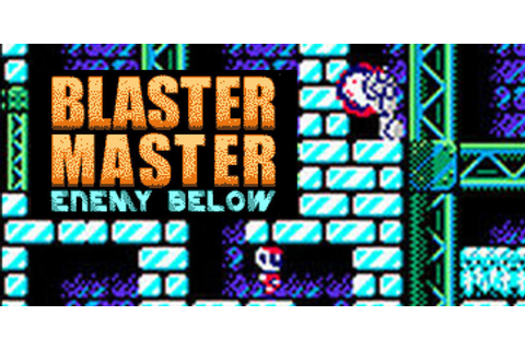 Blaster Master Enemy Below | Virtual Console (Nintendo 3DS ...