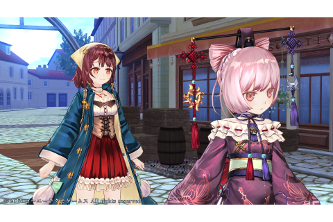 Atelier Sophie: The Alchemist of the Mysterious Book (Game ...