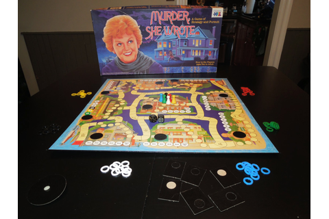 Murder, She Wrote | A Board Game A Day
