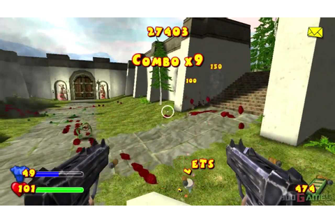 Serious Sam: Next Encounter - Gameplay PS2 HD 720P - YouTube