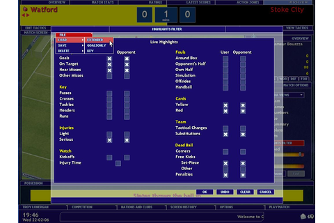 Championship Manager 2006 PC Galleries | GameWatcher