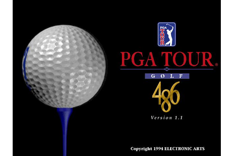 PGA Tour Golf 486 Download (1994 Sports Game)