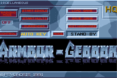 Download Armour-Geddon - My Abandonware