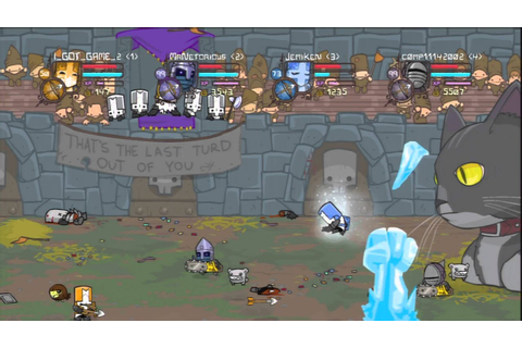 (You call this Co-op?) Castle Crashers Game 2 (Me + random ...