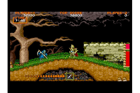 Ghouls n Ghosts - Freegamearchive.com